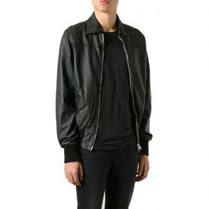 Genuine Leather Jacket Biker Coat Men's Slim Hand Made in Italy Cod.021 Rindway