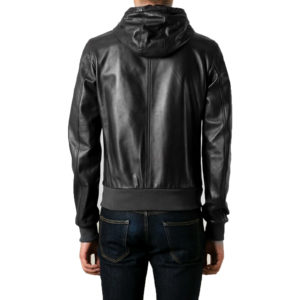 Genuine Leather Jacket Biker Coat Men's Slim Hand Made in Italy Cod.018 Rindway
