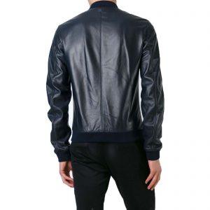 Genuine Leather Jacket Biker Coat Men's Slim Hand Made in Italy Cod.064 Rindway