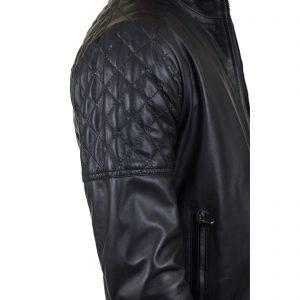 Giubbotto Giacca In Pelle PU Uomo Slim Produzione Artigianale Cod.156 Rindway