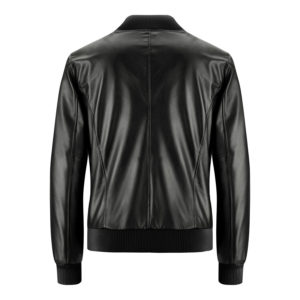 Genuine Leather Jacket Biker Coat Men's Slim Hand Made in Italy Cod.258 Rindway