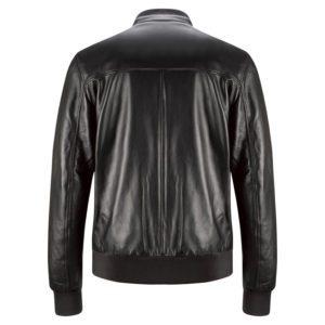 Genuine Leather Jacket Biker Coat Men's Slim Hand Made in Italy Cod.259 Rindway