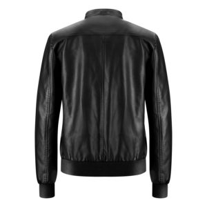 Genuine Leather Jacket Biker Coat Men's Slim Hand Made in Italy Cod.260 Rindway