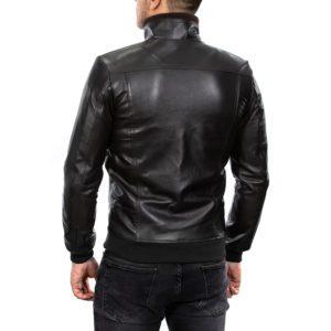 Genuine Leather Jacket Biker Coat Men's Slim Hand Made in Italy Cod.263 Rindway