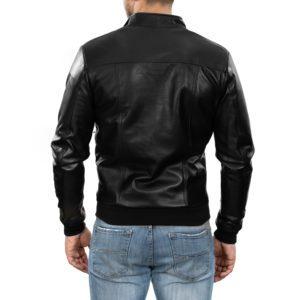 Genuine Leather Jacket Biker Coat Men's Slim Hand Made in Italy Cod.264 Rindway